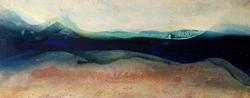 river vi acrylic on canvas 5'x2'250