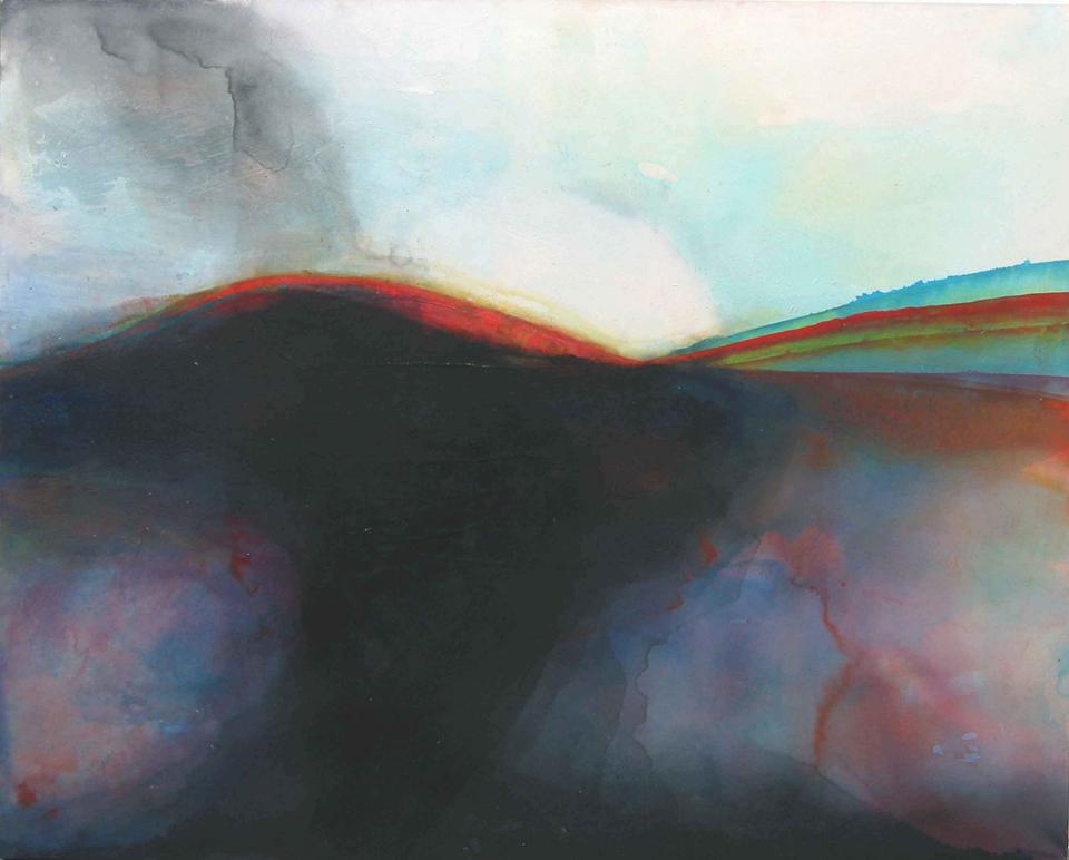 spectrum ii spectrum i 153 x 142cm  pigment and acrylic on canvas